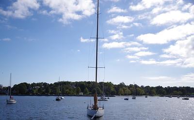 Newport -  Boats everywhere