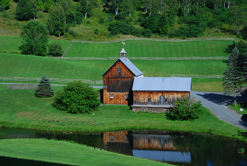 Rural Vermont scene, near Woodstock. Vt.