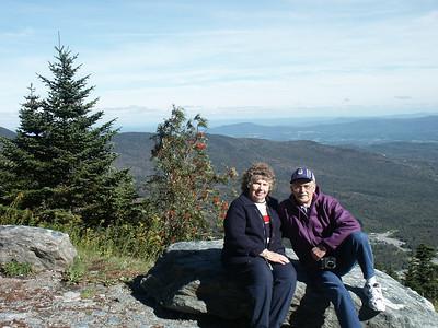 Jean & Fritz at Stowe,VT