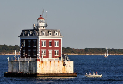 New London Ledge light.