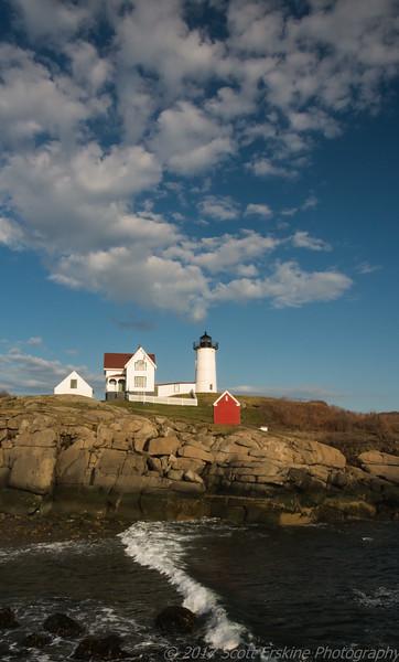 Nubble Light, Low Tide, York Maine