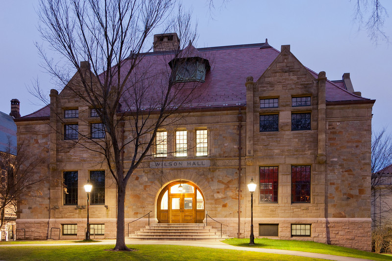 Wilson Hall, Brown University, Providence, Rhode Island