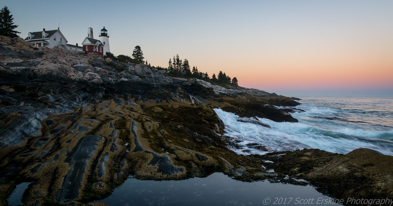 Pemaquid Light and The Belt of Venus, Pemaquid Me.