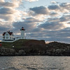 Nubble Light, Clearing Morning Storm, York, Maine