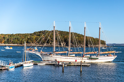 Margaret Todd Schooner in Bar Harbor