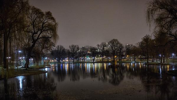 Duck Pond, Boston Public Garden