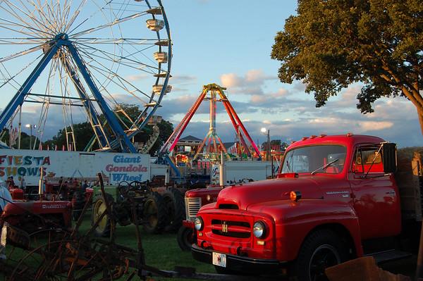 Woodstock Fair Sunset