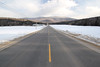 Road towards the White Mountains, New Hampshire