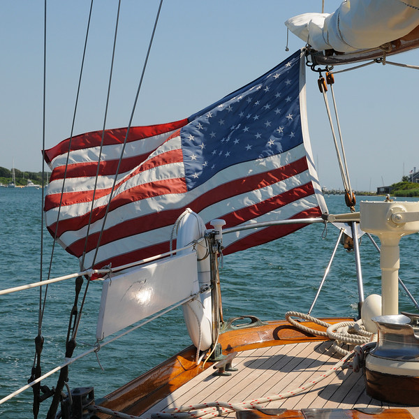Old Glory at Sea MA