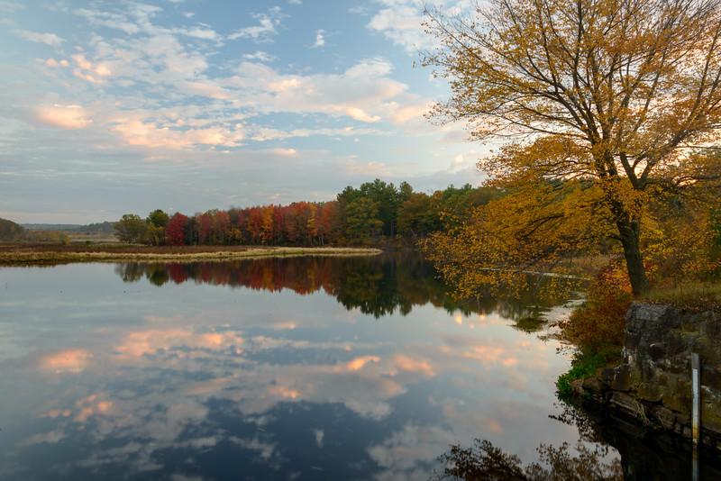 Sunrise, Rice City Pond, Uxbridge, MA