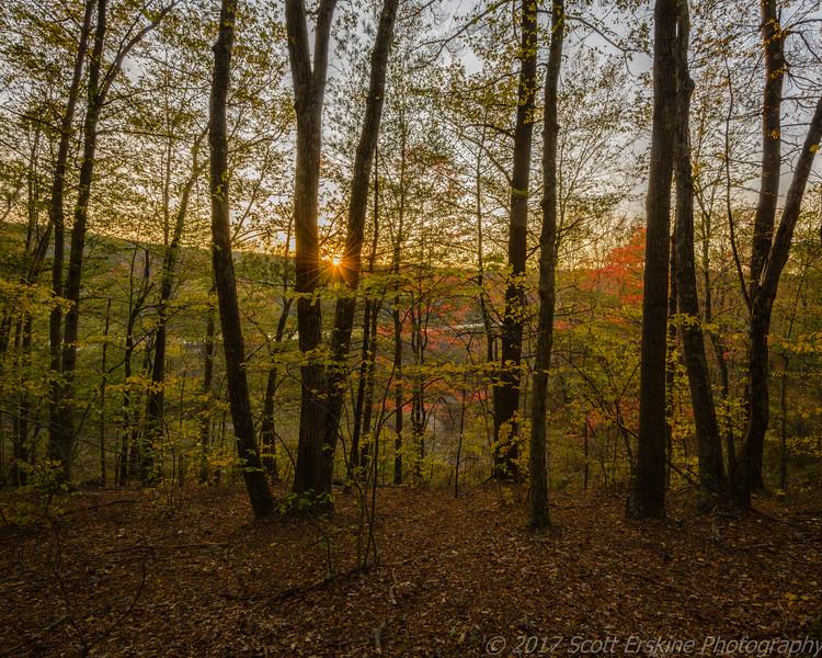 Sunset, Blackstone Valley, Ma