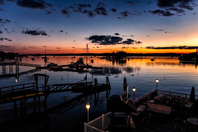Boothbay Harbor Sunset