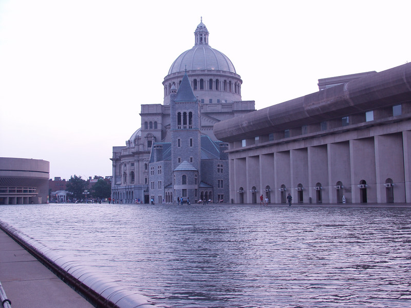<b>Reflecting Gray</b><br>The reflecting pool of the Christian Scientists.