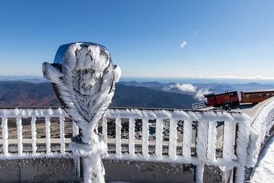 Frosty Mt. Washington Summit