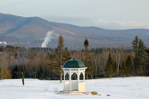 Gazebo outside  Mountain View Grand Resort and Spa, Whitefield, New Hampshire