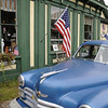Blue Car Antique ME
