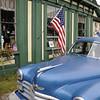 Blue Car Antique ME