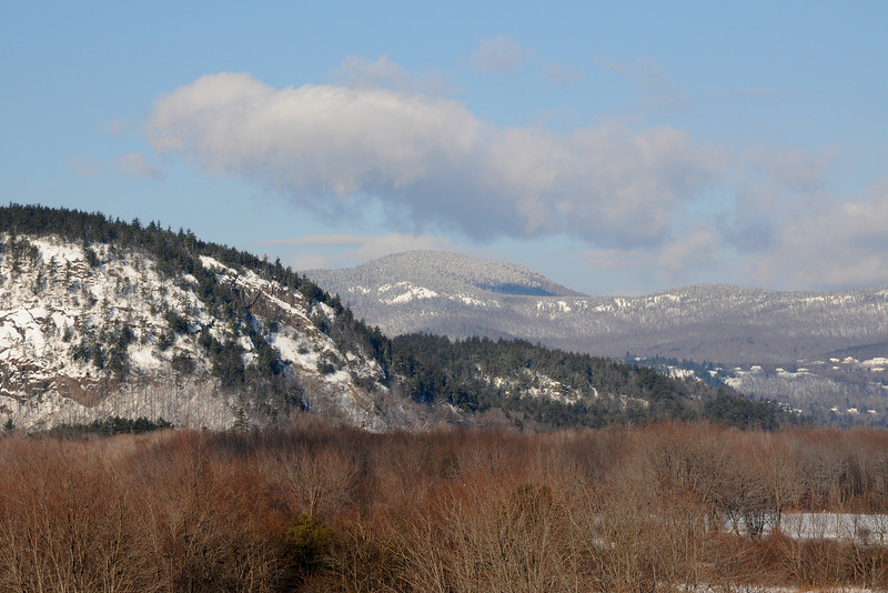 Snow Covered Hills NH