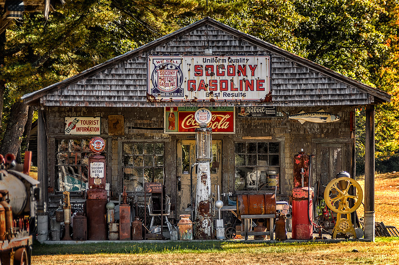 The Old Gasoline Station