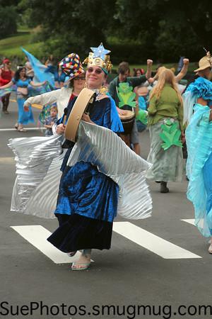 Frog and Flower Parade 2012, Shelburne Falls, Massachusetts