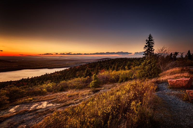 Evening Light on Cadillac Mountain