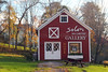 A gallery in the a Vermont village. Pawlet, Vermont, United States