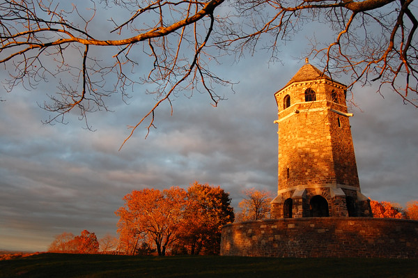 Fox Hill Tower Monument in Henry Park, Vernon, Connecticut