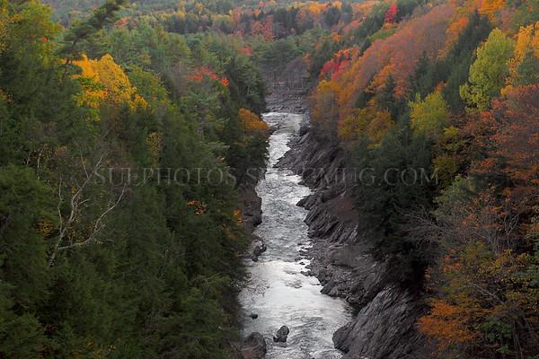 Quechee Gorge, Quechee, Hartford, Vermont, United States