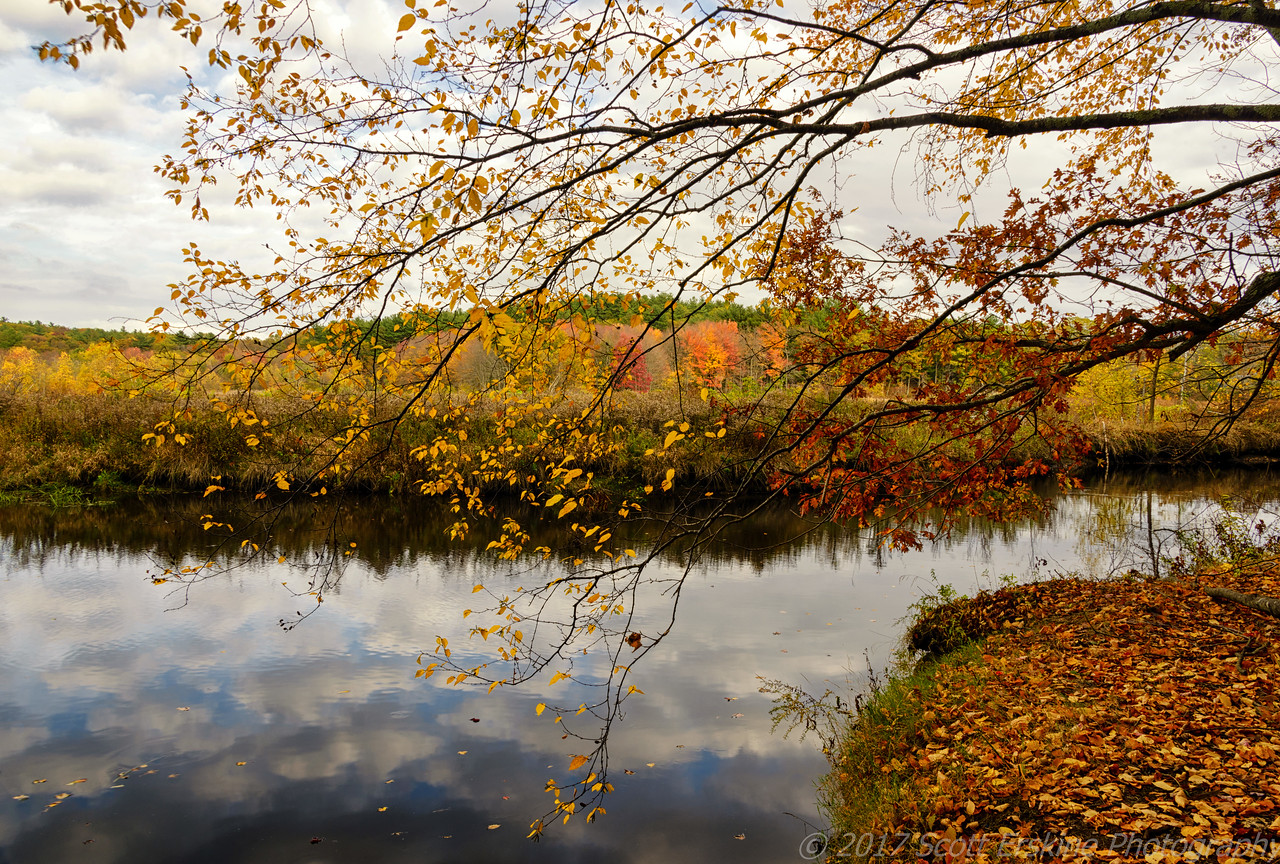 Autumn Afternoon, Blackstone River, Ma