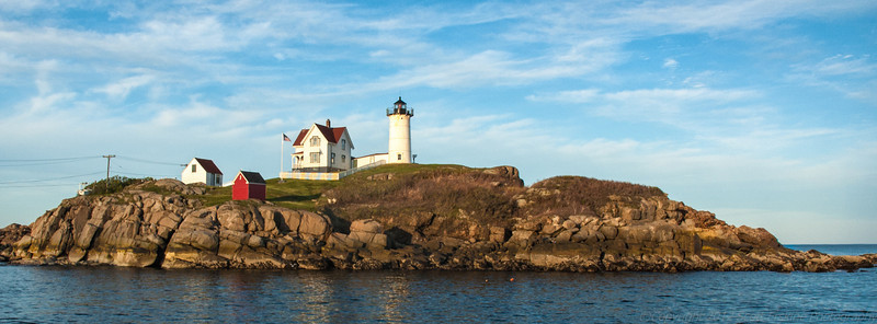 Late Afternoon, Nubble Light, York, Maine