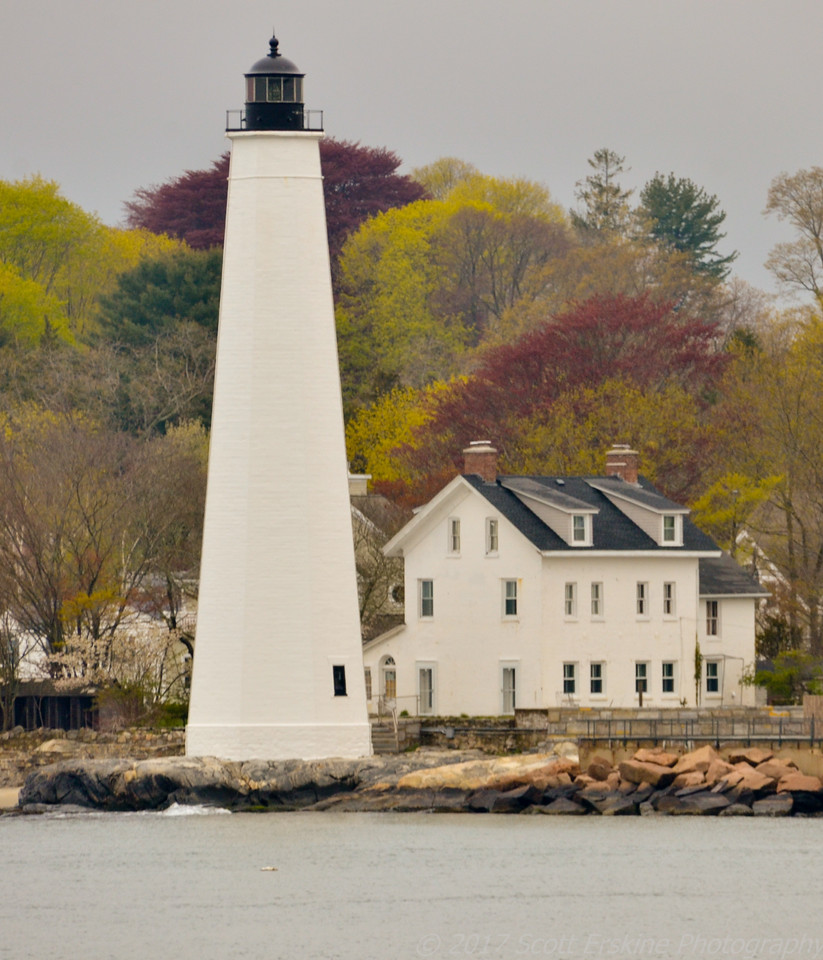 New London Harbor Lighthouse, Spring, New London, CT