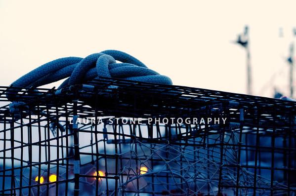 Lobster trap, Stonington, Connecticut