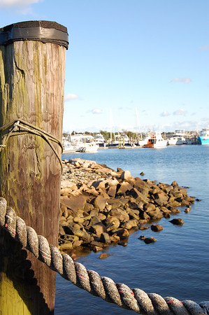 Marina in New Bedford, Massachusetts, New England's former whaling port