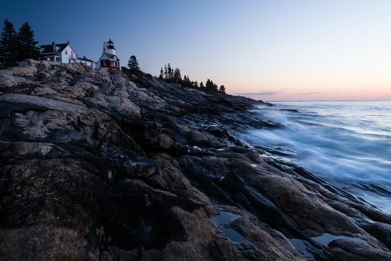 Pemaquid Evening Afterglow, Bristol, Maine