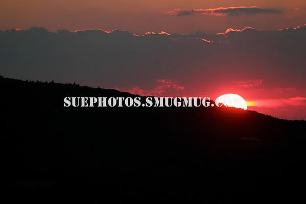 Sunset viewed from Mt. Battie, Camden Hills State Park, Maine