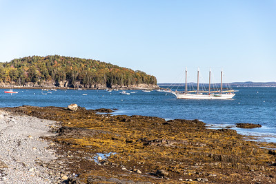 Margaret Tood Schooner in Bar Harbor