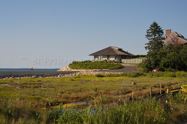 Cape Cod homes overlooking the marsh and the ocean