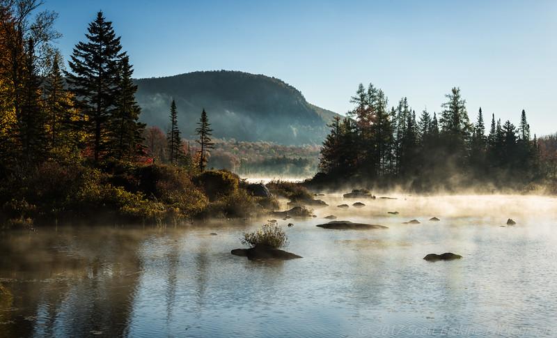 Sunrise Mist, Vermont