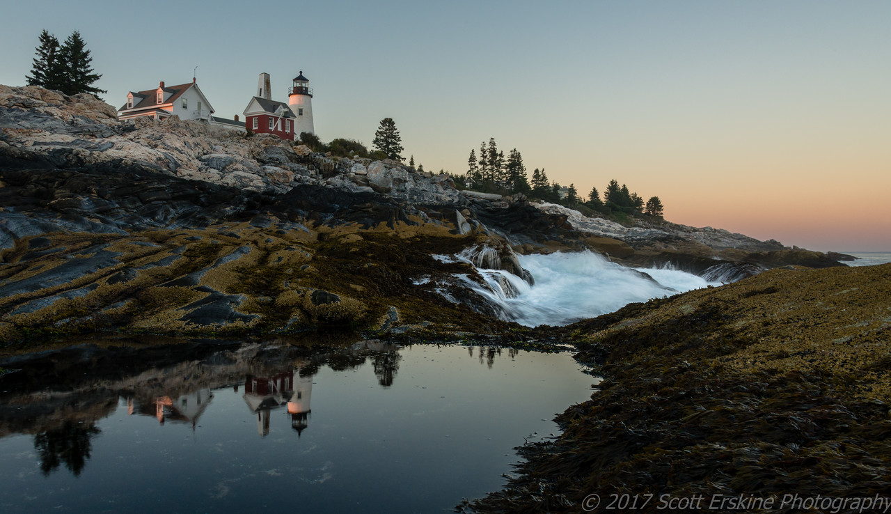 Last Light, Pemaquid Lighthouse, Pemaquid, Maine
