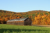 Tobacco barn, Sunderland, Massachusetts