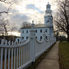 The First Congregational Church of Bennington was designed by Lavius Fillmore and built in 1805. This church is the second meetinghouse of Vermont's oldest Protestant religious organization that started in 1762. In 1937 the church was renamed as Vermont's Colonial Shrine.