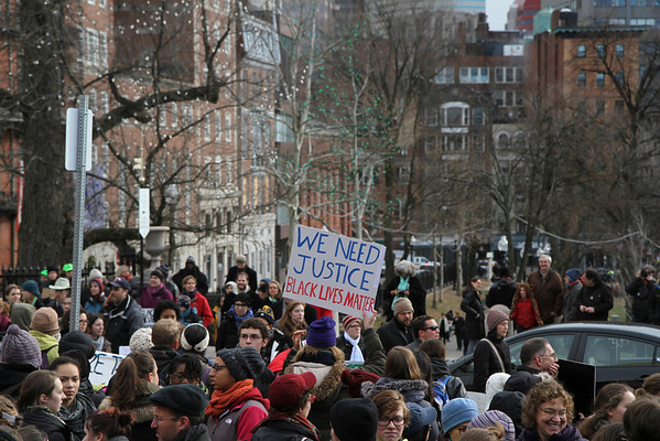 13 December, 2014. Milions March Rally in Boston, Massachusetts, USA