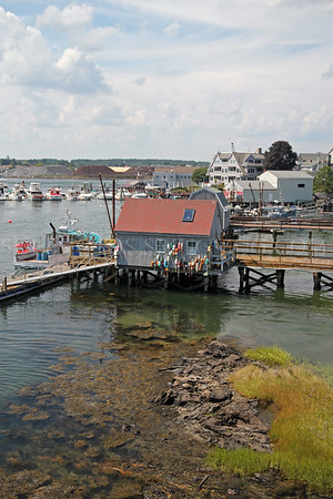 In the Piscataqua River, near the border between Portsmouth, New Hampshire and Kittery, Maine, United States