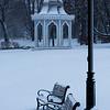 Agamont Park, Bar Harbor, January Snowstorm