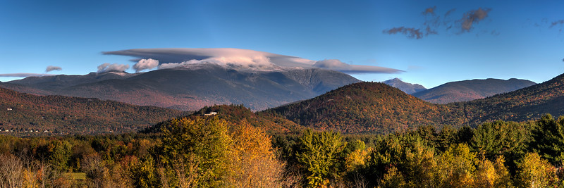 Clouds Over Mount Washington