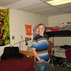 Ross's dorm room at Plymouth State University