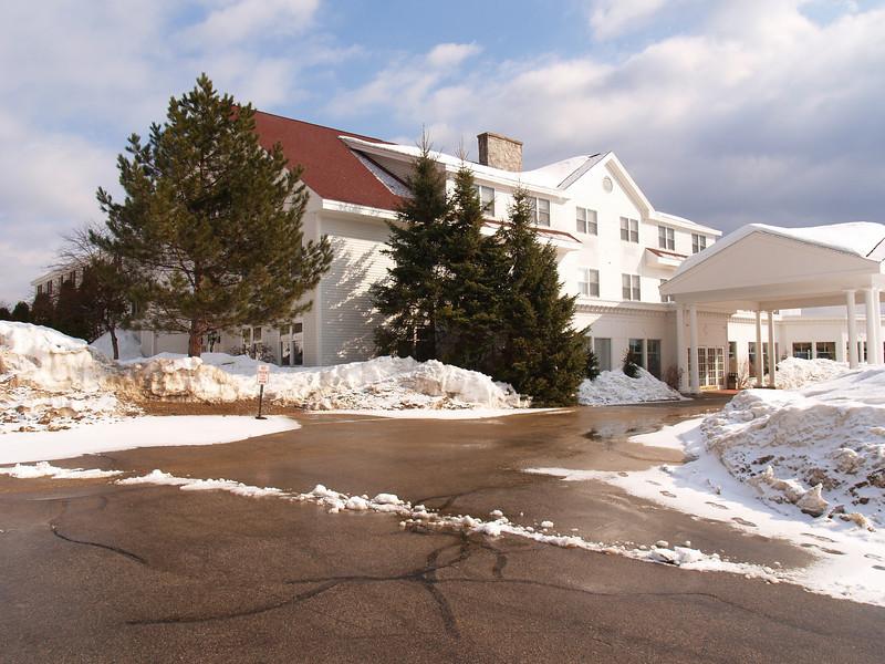 White Mountain Inn where we stayed