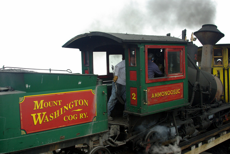 Mt. Washington Cog Railroad
