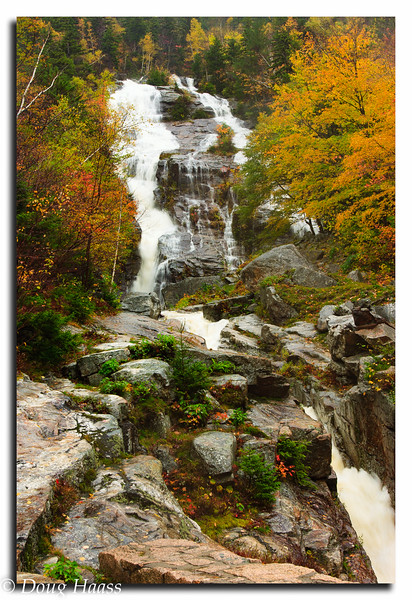 Silver Cascade Falls - Crawford Notch State Park, White Mountains, NH