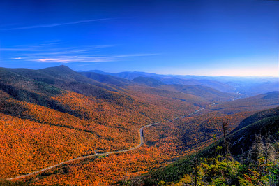 10/12/11 - The view from a ledge on Cannon mountain in NH,  ~4000 ft above route 93